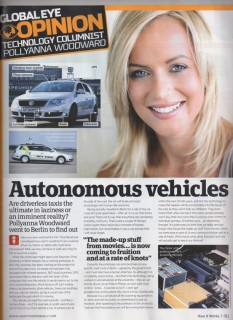 Pollyanna Autonomous vehicles