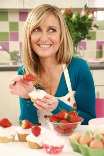Fiona Phillips - Strawberry Tea Campaign