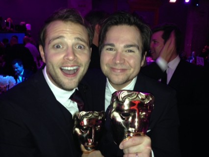 Sam and Mark BAFTA