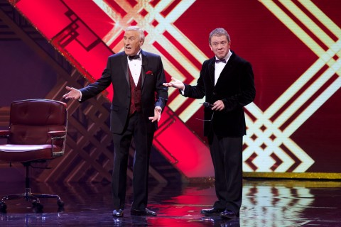 Jon Culshaw and Bruce Forsyth - Hall of Fame - 2014